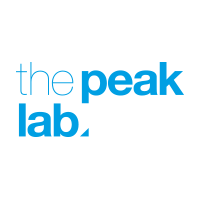 The Peak Lab logo